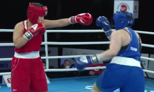 Казахстанская боксерша проиграла россиянке в полуфинале МЧМ-2021