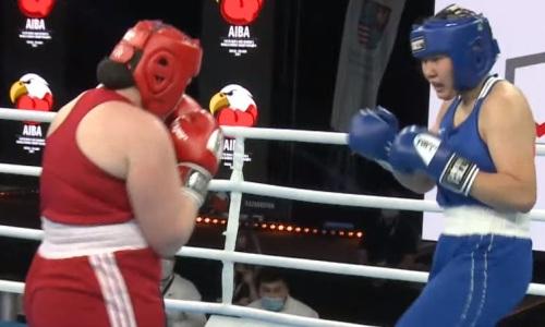 Казахстанка из супертяжелого веса выиграла «бронзу» на молодежном чемпионате мира-2021