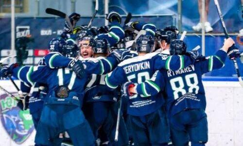 Хоккеист сборной Казахстана остановился в шаге от завоевания Кубка Петрова. Его клуб ведет в финале 3:0
