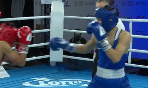Казахстанский боксер побил чемпиона Азии и вышел в финал МЧМ-2021