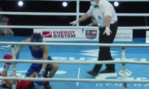 Казахстанский боксер борцовским приемом швырнул чемпиона Азии на пол. Видео