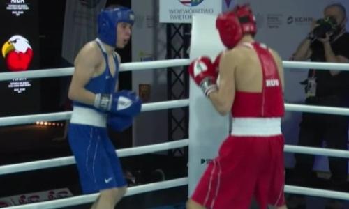 Видео боя, или Как казахстанец доминировал в бою с российским боксером на МЧМ-2021