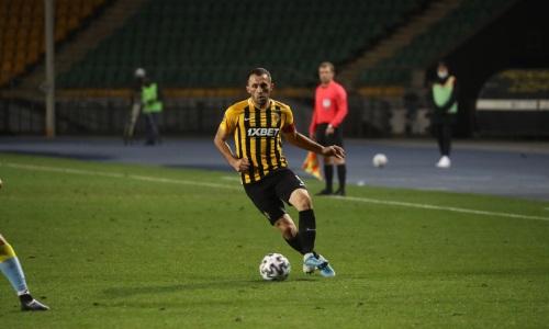 Суюмбаев впервые в нынешнем сезоне вывел «Кайрат» с капитанской повязкой