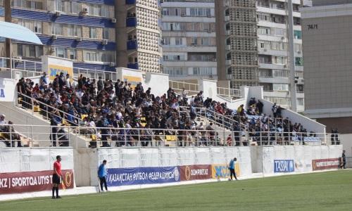 Матч КПЛ «Каспий» — «Тараз» пройдет без зрителей