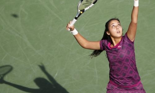 Зарина Дияс проиграла в первом раунде турнира в Стамбуле