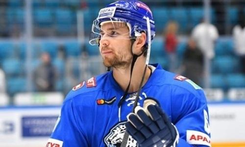 «Барыс» подвел итог скомканного из-за тяжелой травмы сезона защитника. Он попал в состав сборной Казахстана на ЧМ-2021