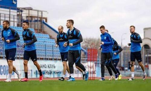 Футболисты сборной Казахстана в составе «Ротора» начали подготовку к матчу РПЛ с «Зенитом». Фото