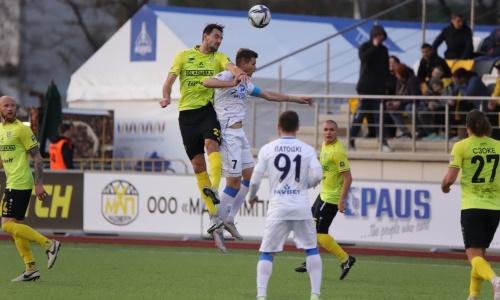 Европейский клуб казахстанского форварда уступил в полуфинале национального Кубка