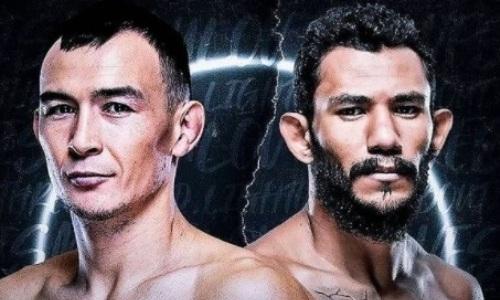«Это будут два волка, дерущиеся за еду». Следующий соперник казаха в UFC сделал заявление о бое