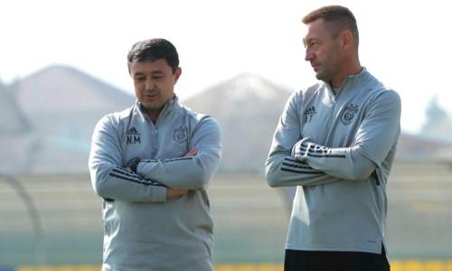 «Астана» лишилась главного тренера перед следующим матчем КПЛ