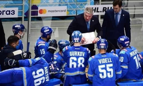 «Это стало стрессом для руководства». Виделль рассказал о «беспорядочном» сезоне «Барыса» в КХЛ