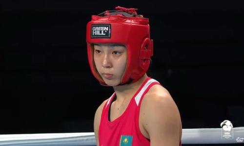 Казахстанскую боксершу нокаутировали в финале молодежного чемпионата мира-2021