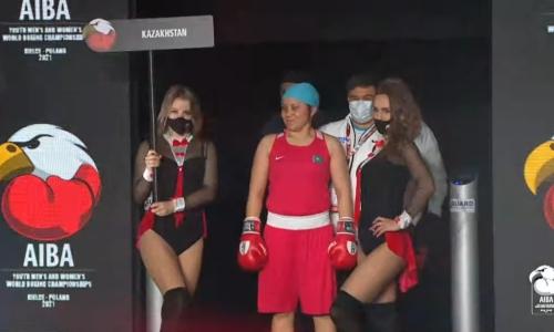 Казахстан остался без «золота» у женщин на молодежном чемпионате мира по боксу