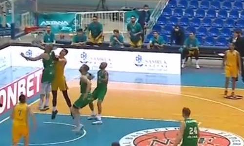 Видеообзор матча ВТБ «Астана» — «Зелена Гура» 88:82