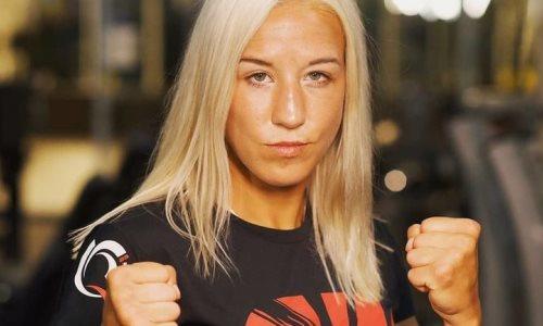 Первая казахстанка в UFC провела тренировку по технике джиу-джитсу с пятикратной чемпионкой мира