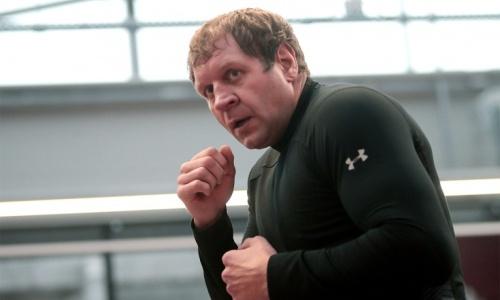 «Цифры космические». Александр Емельяненко получит рекордный гонорар за бой с Джиганом