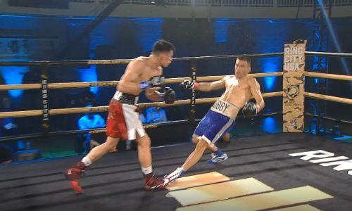 Видео полного боя с двумя нокдаунами и первым поражением в карьере Бобиржана Моминова