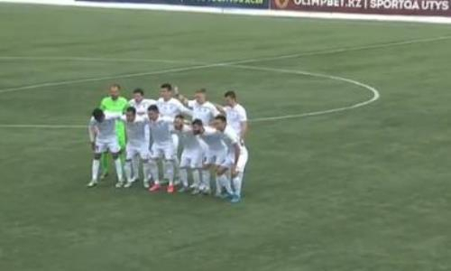 Видеообзор матча Премьер-Лиги «Каспий» — «Тараз» 1:0