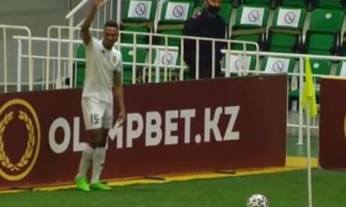 Видео гола Николича матча Премьер-Лиги «Тобол» — «Туран»