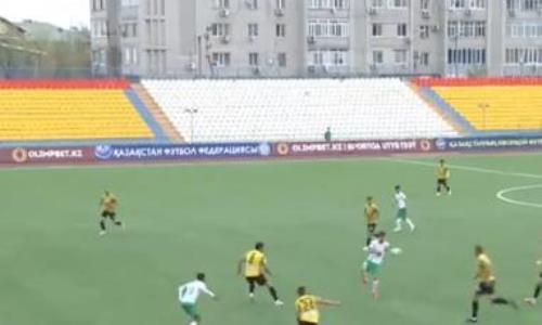 Видеообзор матча Премьер-Лиги «Атырау» — «Кайрат» 1:0
