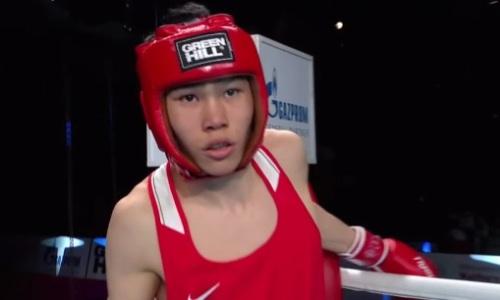 Казахстан выиграл второе «золото» на молодежном чемпионате мира по боксу