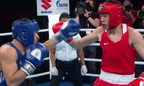 Видео боя, или Как казахстанский боксер принес стране второе «золото» МЧМ-2021