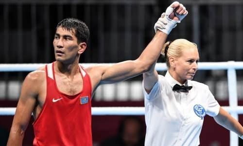 Казахстанский боксер взял реванш у узбека за поражение в финале Азиатских игр. Видео