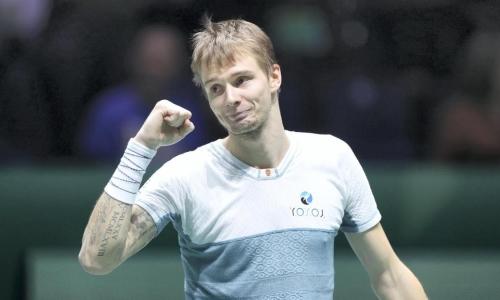 Казахстанский теннисист стал лидером текущего сезона по количеству сделанных эйсов в ATP Tour