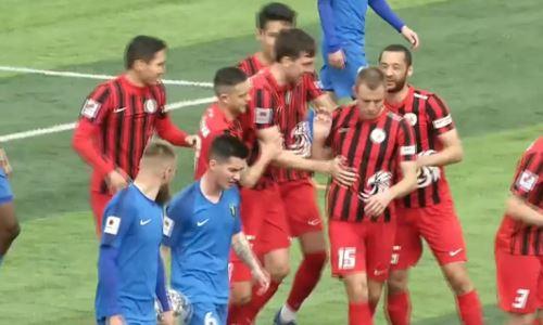 Видео гола Каршакевича матча Премьер-Лиги «Кызыл-Жар СК» — «Жетысу»