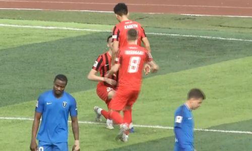 «Кызыл-Жар СК» разгромил «Жетысу» в матче с голом-красавцем Алибека Касыма. Видео