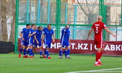 «Актобе» проиграл «Акжайыку» в матче с быстрым голом и удалением в КПЛ