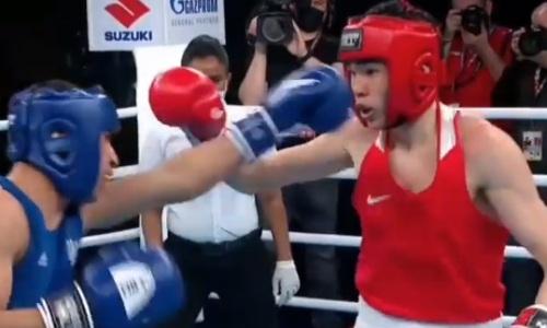 Потрясающий боксер из Казахстана восхитил AIBA. Видео
