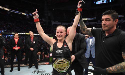 Валентина Шевченко нокаутом в пятый раз защитила титул чемпионки UFC. Видео