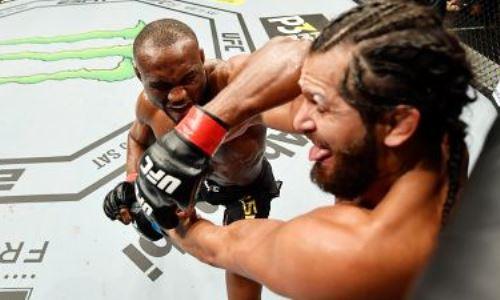 Видео безумного нокаута в бое-реванше UFC Усман — Масвидаль