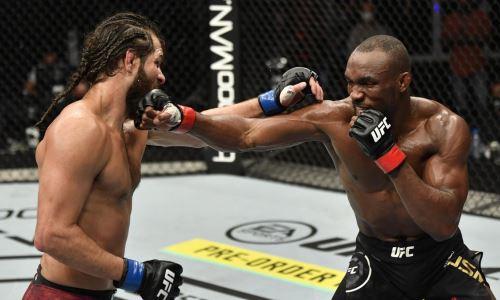 Видео полного боя Камару Усман — Хорхе Масвидаль 2 на UFC 261