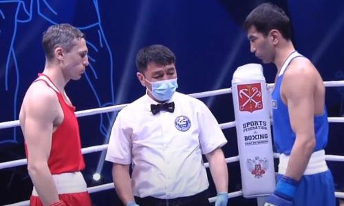 Видео полного боя с победой казахстанского боксера над чемпионом мира у него на родине