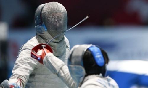 Назарбай взял «бронзу» на азиатской квалификации по фехтованию