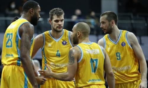 «Астана» потерпела самое крупное поражение в сезоне Единой лиги ВТБ