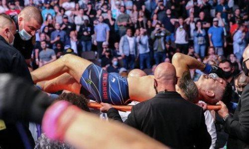 Бывший чемпион UFC перенёс операцию после жуткой травмы на 17-й секунде боя. Фото