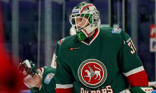 Шведский вратарь может покинуть топ-клуб конференции «Барыса» в КХЛ вместе с хоккеистом сборной Казахстана