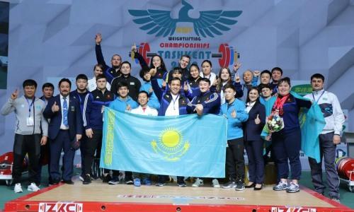 Казахстанские тяжелоатлеты выиграли общекомандный зачет чемпионата Азии