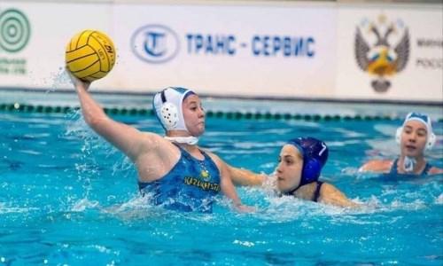 Женская сборная Казахстана по водному поло попала в тройку лучших чемпионата России