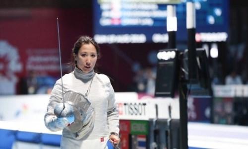 Казахстанская фехтовальщица уступила в финале и не смогла завоевать олимпийскую лицензию