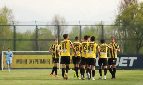 «Кайрат-Жастар» забил восемь голов в ворота «Байконура» в матче Первой лиги