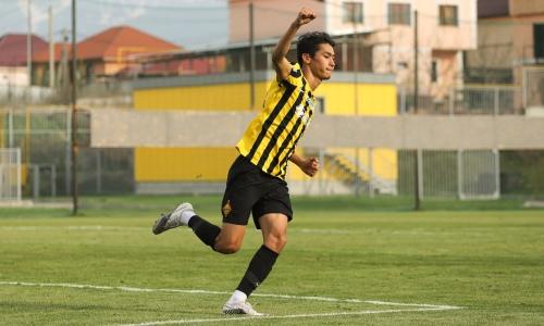 Еркебулан Сейдахмет забил первый гол с середины 2019 года. Видео