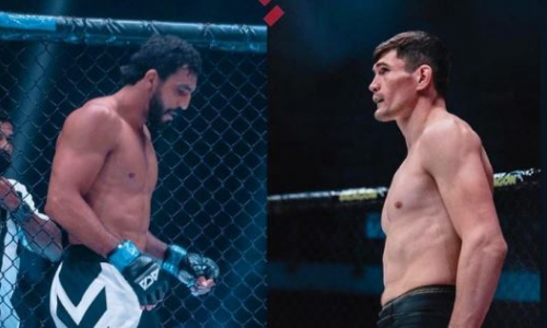 Бразильский файтер показал свою подготовку к бою с известным казахстанцем в ACA. Видео