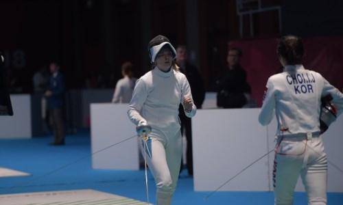 Казахстанская спортсменка стала второй на азиатской квалификации по фехтованию