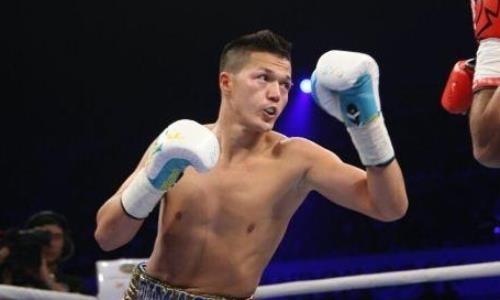 Казахстанский боксер-полицейский из США выйдет в один ринг с экс-соперником Головкина