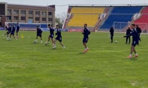 «Ордабасы» показал подготовку к матчу КПЛ с «Кайратом». Видео