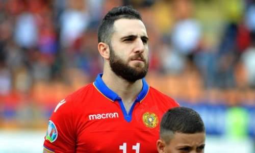 Футболист «Астаны» вошел в символическую команду отбора ЧМ-2022 по версии France Football